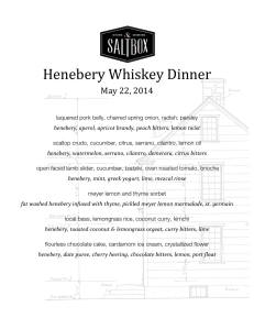 Saltbox Henebery Dinner